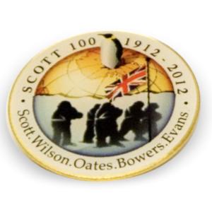 Scott Centenary Pin Badge